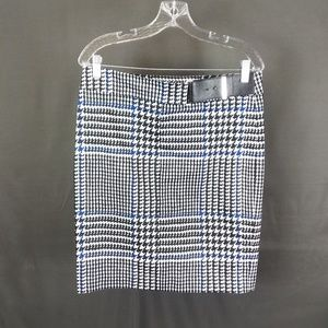 Michael Kors size 8 Houndstooth Pencil Skirt